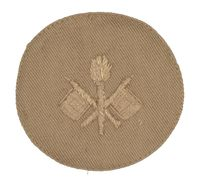 WWI SIGNAL CORPS PATCH