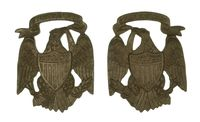 1901 U.S. ARMY SHOULDER STRAP EAGLES