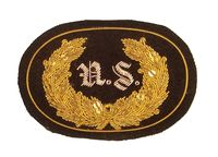 CIVIL WAR STAFF OFFICER EMBROIDERED INSIGNIA