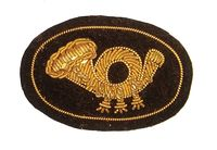 CIVIL WAR INFANTRY EMBROIDERED INSIGNIA