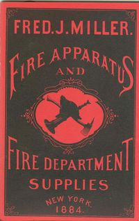 FRED J. MILLER FIRE DEPARTMENT SUPPLY CATALOG