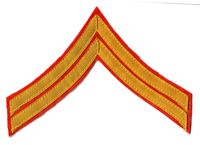 CIVIL WAR USMC CORPORAL CHEVRON