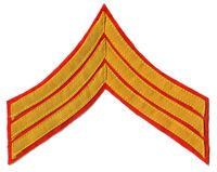 CIVIL WAR USMC SERGEANT CHEVRON