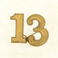 1850'S - 1890'S NUMBER 13