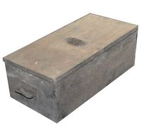 .50 CAL MACHINE GUN MOUNT ACCESORY PARTS BOX