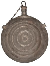 CIVIL WAR BULLSEYE CANTEEN