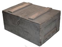 US NAVY AIRCRAFT RADAR SPARE PARTS CRATE