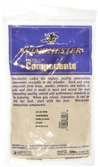 .25-20 WINCHESTER UNPRIMED CARTRIDGE BRASS