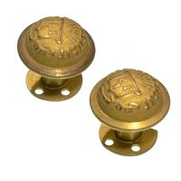 1870'S CONNENCTICUT KEPI SIDE BUTTONS