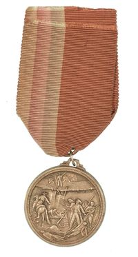 FRENCH FOREIGN LEGION BATTLE OF CAMERON 1863 MEDAL