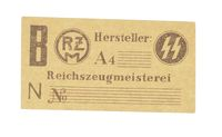 WWII GERMAN MANUFACTURERS PAPER LABELS