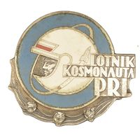 POLISH ASTRONAUT BADGE