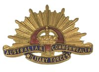 AUSTRALIAN MILITARY FORCES BADGE