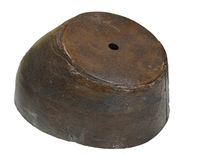 CIVIL WAR THRU 1870'S CAP BODY AND LEATHER BAND