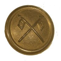1881 HELMET SIGNAL CORPS SIDE BUTTON