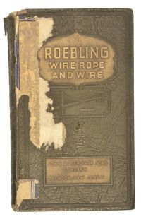ROEBLING WIRE ROPE & WIRE CATALOG