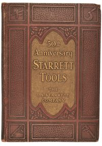 STARRET TOOLS 50TH ANNIVERSARY CATALOG