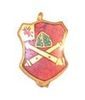 WW2 ARTILLERY UNIT SWEETHEART PIN