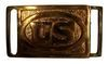 M1874 SWORD AND WAIST RECTANGULAR US BELT PLATE