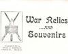 CHARLES J. GODFREY CATALOG OF WAR RELICS AND SOUVENIRS 1902