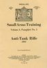 ANTI-TANK RIFLE, 1937, SMALL ARMS TRAINING, VOLUME 1, PAMPHLET NO. 5