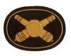 CIVIL WAR ARTILLERY EMBROIDERED INSIGNIA