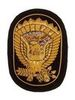 M1858 JEFF DAVIS EAGLE EMBROIDERED INSIGNIA