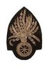CIVIL WAR ORDNANCE DEPARTMENT EMBROIDERED INSIGNIA
