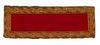 2nd LIEUTENANT ARTILLERY SHOULDER STRAP