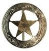 TEXAS STAR BRIDLE ROSETTE