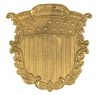 USMC BRASS SHIELD