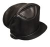 M1831 USMC BLACK LEATHER CAP