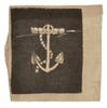 CIVIL WAR RATING BADGE, FOULED ANCHOR