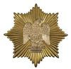 1833 DRAGOON HAT EMBLEM WITH SUNBURST