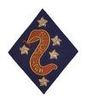 2ND MARINE DIVISION GUADALCANAL PATCH
