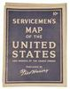 WORLD WAR II FRED HAVERY SERVICEMAN MAPS