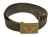 M1874 EAGLE BUCKLE AND LEATHER BELT