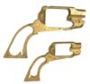 BRASS REMINGTON REVOLVER FRAMES