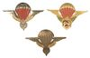 FRENCH AFRICA PARATROOPER BADGE LOT