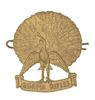 BURMA RIFLES CAP BADGE