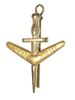 AUSTRALIAN 1ST COMMANDO REGIMENT HAT BADGE