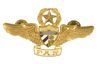 CUBAN AIR FORCE COMMAND PILOT WINGS