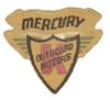 MERCURY OUTBOARD SHIRT PATCH