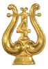 WORLD WAR I BAND COLLAR INSIGNIA