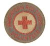 WORLD WAR II AMERICAN RED CROSS VOLUNTEER SEWN PIN