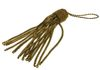 VINTAGE BRASS WIRE UNIFORM TASSEL