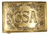 CIVIL WAR CSA BUCKLE