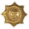 FOREIGN BRASS 8 POINT SHIELD WITH CREST