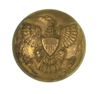 INDIAN WAR LARGE EAGLE BUTTON